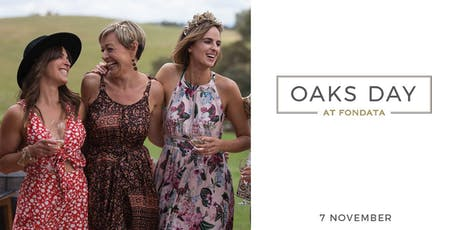 Oaks Day at Fondata 1872 tickets