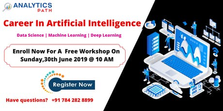 Register Free  Artificial Intelligence Workshop Session On 30th ,Jun10 AM tickets