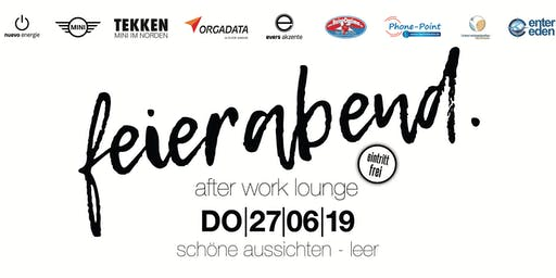 feierabend - after work lounge leer