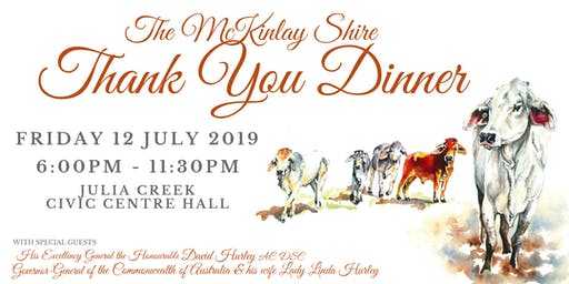 McKinlay Shire Thank You Dinner