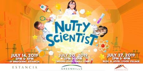 Nutty Scientist in Ortigas Malls tickets