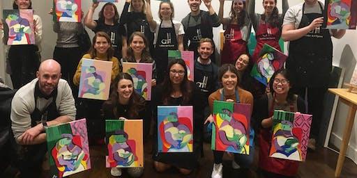 Picasso Night - 'Le Rêve | Fri 2 Aug, 6:45 pm (2 hours)' Sip & Paint Workshop
