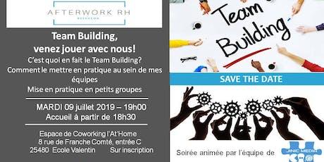 AfterWork RH Besançon: Team Building, venez jouer avec nous! billets