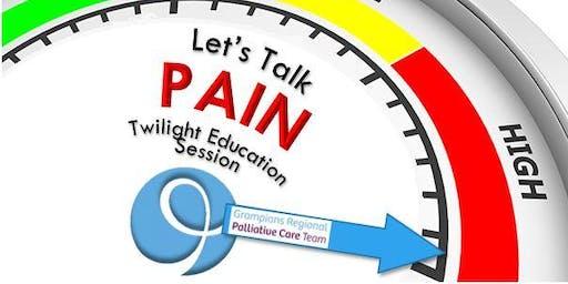 Let's Talk PAIN