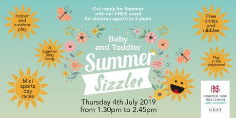 Summer Sizzler - FREE Baby and Toddler Event at Norwich High School tickets