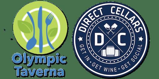 Olympic Taverna Wine & Cheese Night