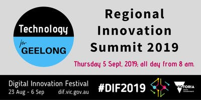 Technology for Geelong Regional Innovation Summit - supporting Elf Squad.