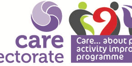 CARE ABOUT PHYSICAL ACTIVITY - S AYRSHIRE - CARE HOMES - LEARNING EVENT 2 tickets