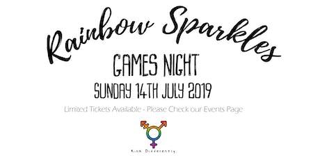 Rainbow Sparkles Games Night - July tickets