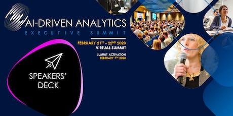 AI-Driven Analytics Executive Summit | 2020 (Speaker's Deck) tickets