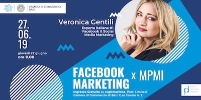 Facebook Marketing per MPMI con Veronica Gentili