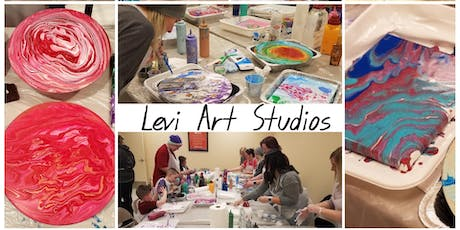 Independence Day Themed Acrylic Pouring Class. tickets