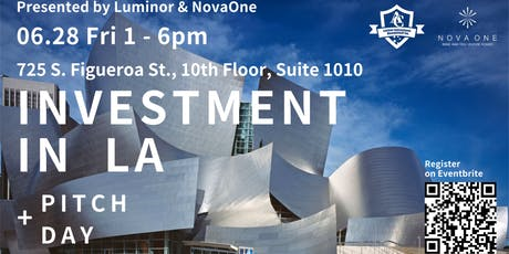NovaOne x Luminor Investment in LA + Pitch Day tickets