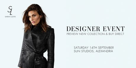 Sarah Lloyd - Designer Event  tickets