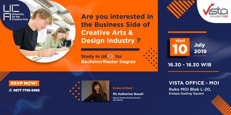 Are You Interested in Creative Arts & Design Industry Info Session tickets