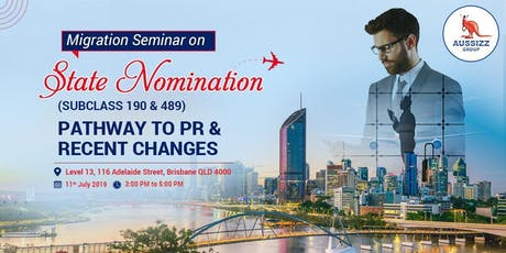 Free Migration Seminar on State Nomination Pathway to PR  including new Updates tickets