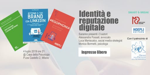 Identità e reputazione digitale | Presentazione libri