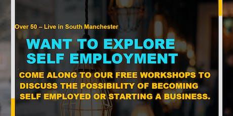 Age Friendly Self-employment workshop (50+) tickets