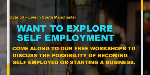 Age Friendly Self-employment workshop (50+)