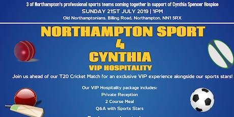 Northampton Sport 4 Cynthia - VIP Hospitality tickets