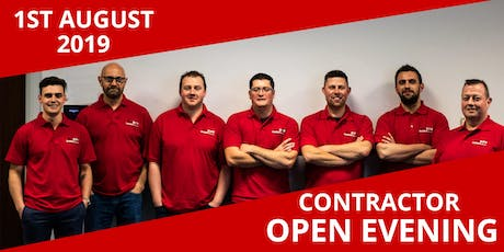 Contractor Open Evening tickets