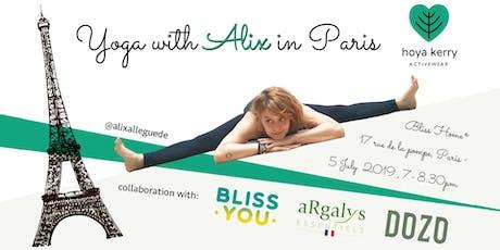 Yoga with Alix in Paris billets