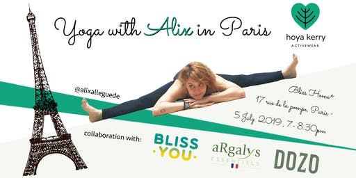 Yoga with Alix in Paris