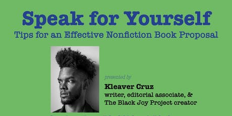 Speak for Yourself (part of the Word Up Bookmarks Series) tickets