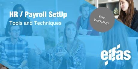 Employers Basics - HR /Payroll Set Up Tickets