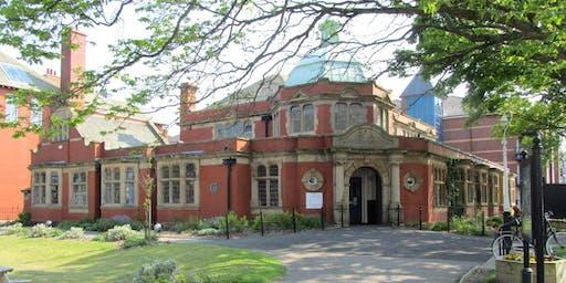 Our Carnegie Library (St Annes) #SCARTclub #LancsRJ
