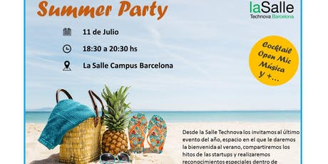 Summer Party 2019 (Technova Barcelona) entradas