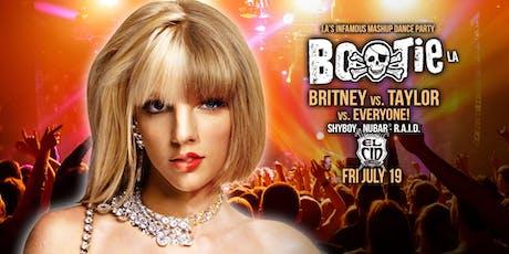 Bootie LA: Britney vs. Taylor vs. Everyone! tickets