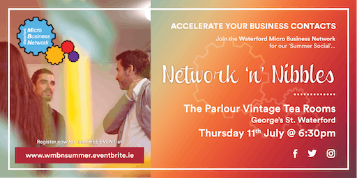 Accelerate Your Business Contacts with Networks 'n' Nibbles