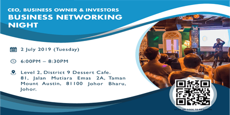 CEO, Business Owner & Investors Business Networking Night tickets