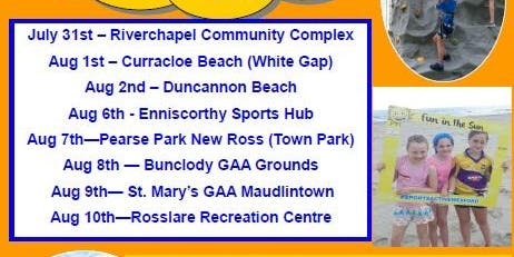 Fun in the Sun 2019 Enniscorthy Sports Hub