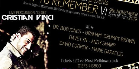 A Night To Remember VI tickets
