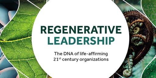 Regenerative Leadership - a conversation with Giles Hutchins