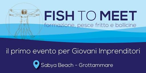 Fish to Meet - Formazione, pesce fritto e bollicine