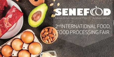 SeneFood & SenePack - 2éme edition de Salon de L'Alimentation et de L'Emballage tickets