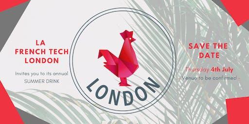 La FrenchTech London - Summer Drinks