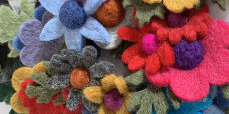 Beginners Needle Felting   tickets