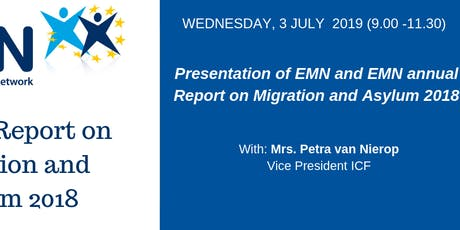Presentation of EMN and EMN annual Report on Migration and Asylum 2018 tickets