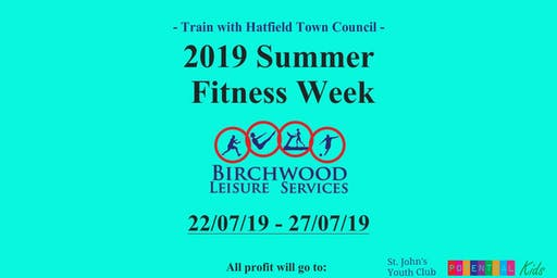 2019 Summer Fitness Week - Hatfield