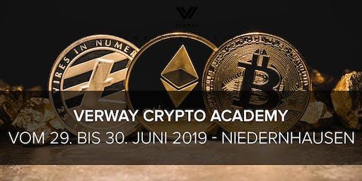 VERWAY Crypto Academy - 29. bis 30.06. - H+ Hotel Niedernhausen DE