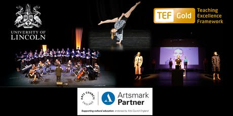 University of Lincoln LSFPA Taster Day 2019: Dance, Drama and Music  tickets