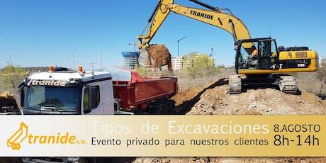 """Evento """"Tipos de Excavaciones en Madrid"""": Desde la creación a la ejecución tickets"""