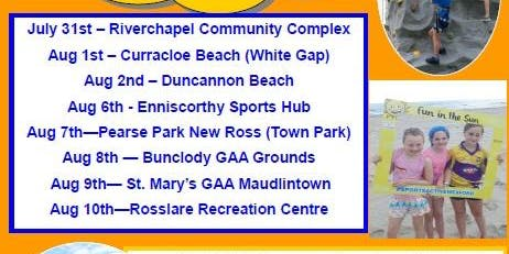 Fun in the Sun 2019 Bunclody GAA Grounds