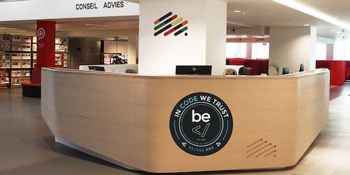 BeCode - Séance Info U25 @Cité des métiers