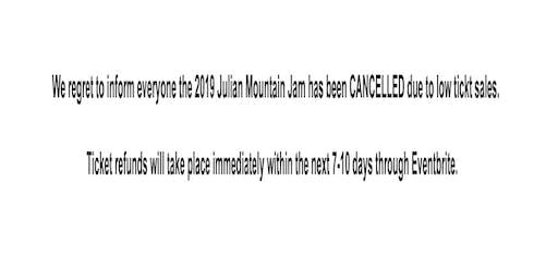 Julian Mountain Jam