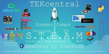 TEKcentral - Coding and Technology Summer Camp BALLYKELLY tickets